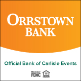 Orrstown Bank, Official Bank of Carlisle Events