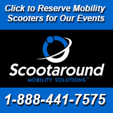 Click to Rent Mobility Scooters at Our Events!